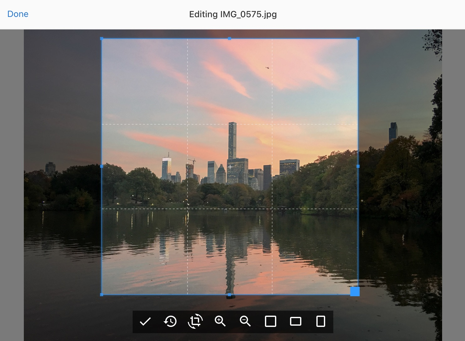 Uppy with Image Editor plugin screenshot — cropping, rotating and resizing images